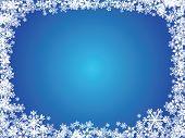 Snowflake X-Mas Background