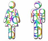 Male And Female Diversity Images