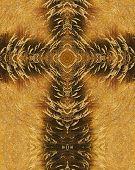 Autumn Grasses Cross
