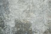 Background And Texture Of Gray Cement Wall. Crack Cement Surface. poster