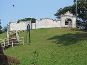 Malaysia - Malacca's St. John Dutch Fort.