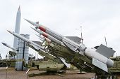 Old anti aircraft missiles