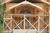 Construction Of  Wooden Church