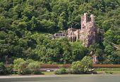 Burg Rheinstein At The Rhine Valley