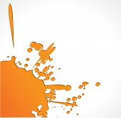 Color Grunde Paint Splashes For Background Vector Eps