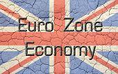 Euro Zone Economy Union Jack
