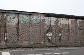 The remains of berlin wall in Berlin