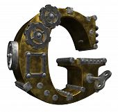 Steampunk Letter G