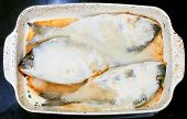 Baked In Sea Salt Fish