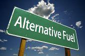 Alternative Fuel Road Sign