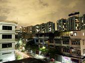 Night View Of Bangkok, Thailand.