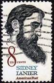 Sidney Lanier ( 1842-1881 ) American Poet