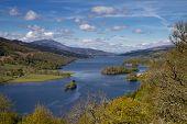 Lookout Queens View At Loch Tummel