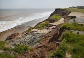 Erosion Of Cliffs