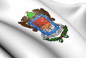 Bandeira de Michoacán, no México.