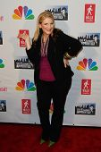NEW YORK-MAY 20: Comedienne Lisa Lampanelli attends the 'Celebrity Apprentice' Live Finale at the Am