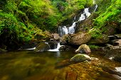 Torc Wasserfall in Killarney National Park, Irland