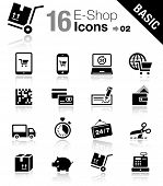 Basic - Shopping icons