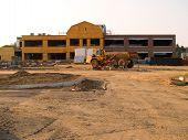 New School Construction Site