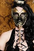 Mysterious Masquerade - Sexy Vixen with Venetian Mask