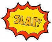 cartoon comic book slap noise