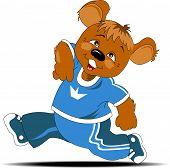 Atleta de urso