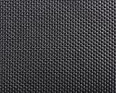 Textura de poliéster preta