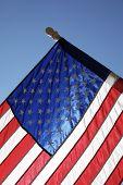 Cidade natal bandeira americana