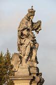 Statue Of St. Ludmilla Of Bohemia