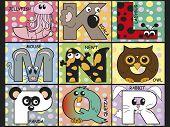 Alfabeto de animal