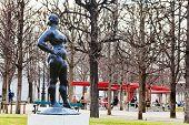 Modern Statue In Jardin Des Tuileries, Paris