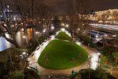 Square Du Vert-galant In Paris