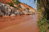 The Fairy stream near Mui Ne, Vietnam