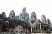Bayon In Angkor, Cambodia