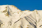 Mount Timpanogos Mountain Close-up