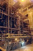 Steam Turbine At A Power Plant