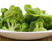 Closeup Photo Of Plate With Broccoli