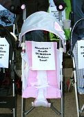 Baby Carriage With A Pro-life Message