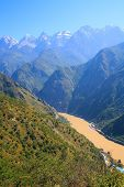 Tiger leaping gorge. Tibet. China.