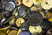 A Pile of Old Buttons