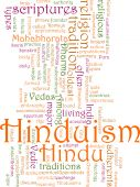 Hinduism Word Cloud