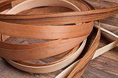 Wooden Floor With Small Veneer