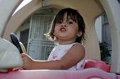 Little Girl In The Car
