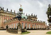 The New Palace In Sanssouci Park, Potsdam, Germany