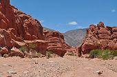 Rock Formation. Quebrada De Las Conchas.
