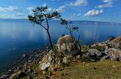 View Of Lake Baikal From Olkhon Island