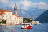 Landscape Of Old Perast, Kotor Bay, Montenegro