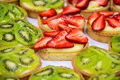 Dessert With Fresh Fruit.