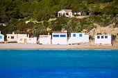 Javea Xabia Playa la Barraca Cala Portichol in Alicante at Mediterranean Spain
