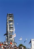Long Beach, CA - Apr 11, 2014:  The TUDOR United SportsCar Championship teams take to the track for